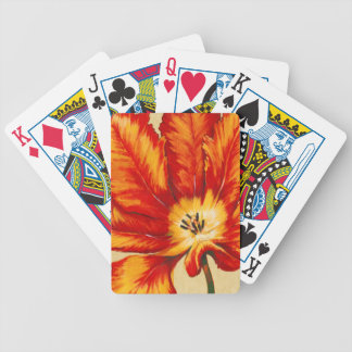 Parrot Tulip II Bicycle Playing Cards