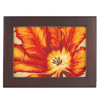 Parrot Tulip II Keepsake Box