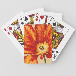 Parrot Tulip II Playing Cards