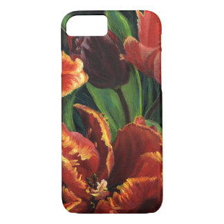 """Parrot Tulips Triptych"" Phone Case"