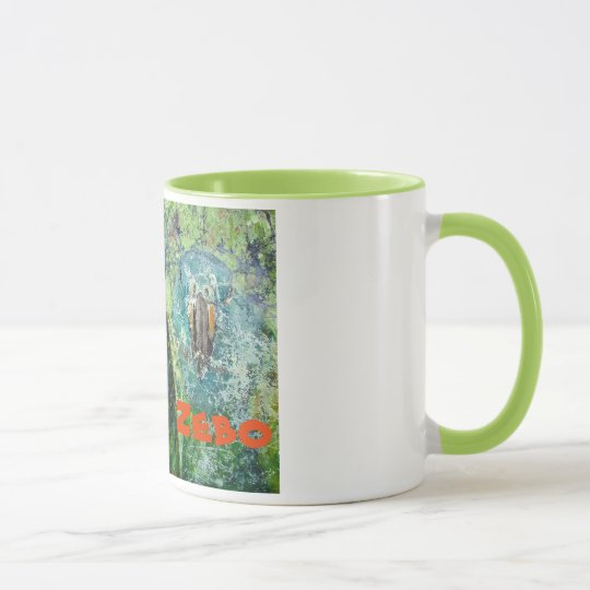 Parrot-watch Coffee Cup