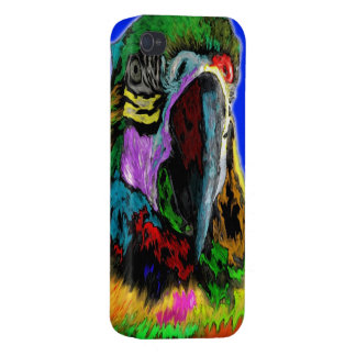 Parrot (watercolor) iPhone 4/4S cover