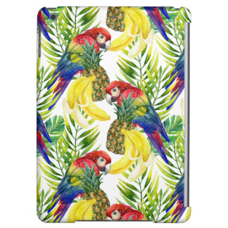 Parrots And Tropical Fruit