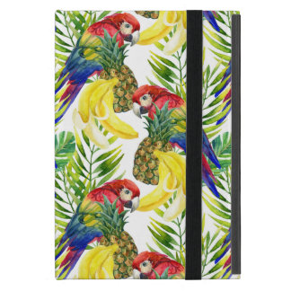 Parrots And Tropical Fruit Cases For iPad Mini