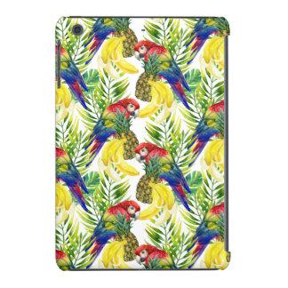 Parrots And Tropical Fruit iPad Mini Cases