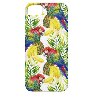 Parrots And Tropical Fruit iPhone 5 Cover