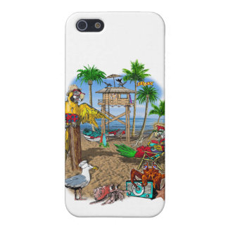 Parrots Beach Party iPhone 5/5S Covers