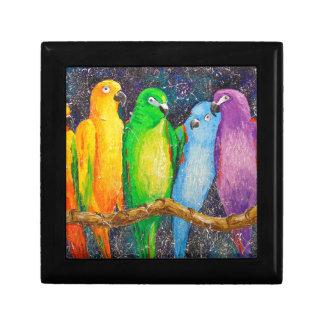 Parrots Gift Box