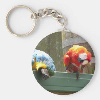 Parrots Key Ring