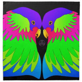 Parrots Napkin