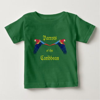 Parrots of the Caribbean Green Baby T-Shirt