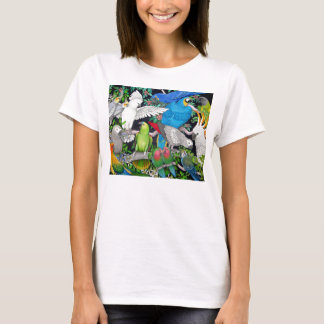 Parrots of the World Babydoll Tee