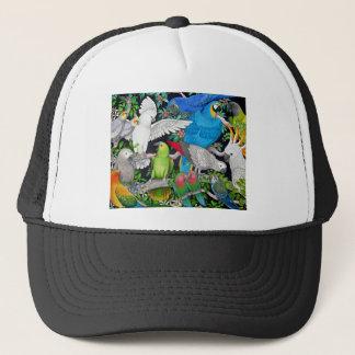 Parrots of the World Trucker Hat