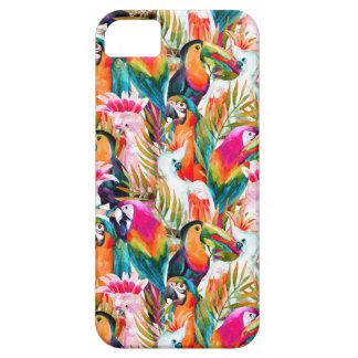 Parrots & Palm Leaves Barely There iPhone 5 Case