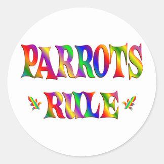 PARROTS RULE STICKERS
