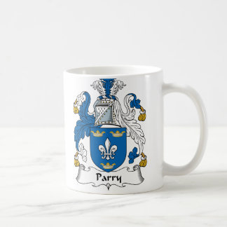 Parry Family Crest Coffee Mug