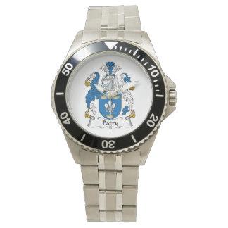Parry Family Crest Wrist Watch