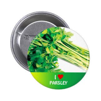 Parsley 6 Cm Round Badge