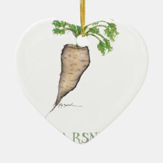 parsnip, tony fernandes ceramic heart decoration