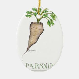 parsnip, tony fernandes ceramic oval decoration