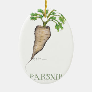 parsnip, tony fernandes christmas ornament