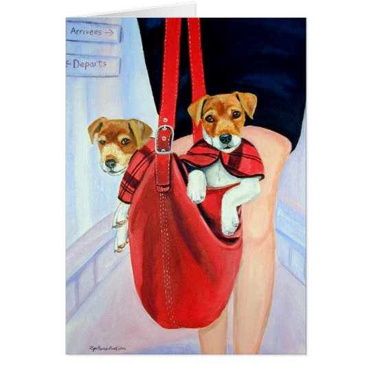 Parson Jack Russell Terrier Cards