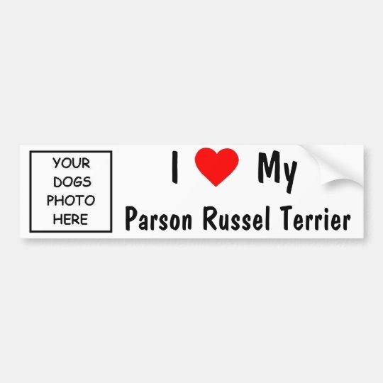Parson Russel Terrier Bumper Sticker