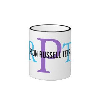 Parson Russell Terrier Breed Monogram Mug