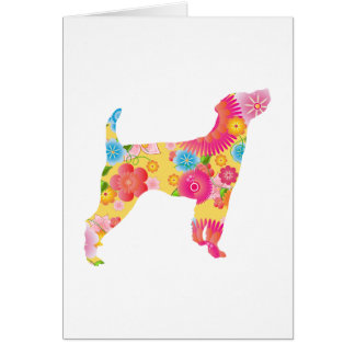 Parson Russell Terrier Card