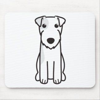 Parson Russell Terrier Dog Cartoon Mouse Mat