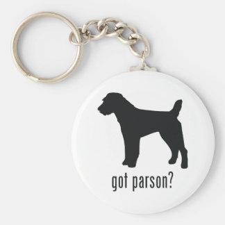 Parson Russell Terrier Keychain