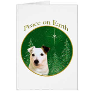 Parson Russell Terrier Peace Card