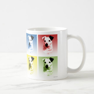 Parson Russell Terrier Pop Art Coffee Mug