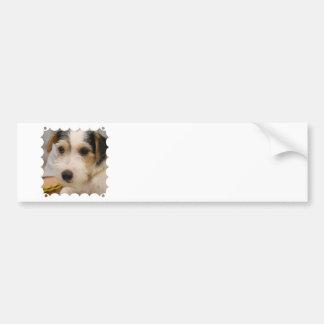 Parsons Terrier Bumper Sticker Car Bumper Sticker