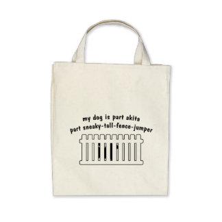 Part Akita Part Fence-Jumper Bag