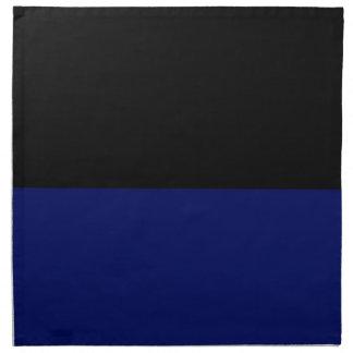 Part black part dark blue do it yourself DIY Napkin