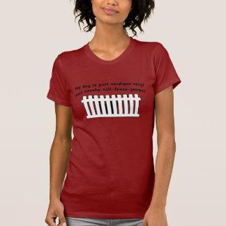 Part Cardigan Corgi Part Fence-Jumper Shirt