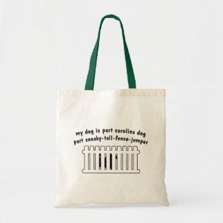 Part Carolina Dog Part Fence-Jumper Budget Tote Bag