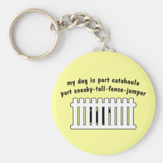 Part Catahoula Part Fence-Jumper Key Chains