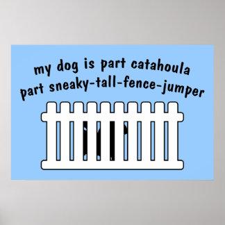 Part Catahoula Part Fence-Jumper Poster