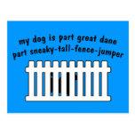 Part Great Dane Part Fence-Jumper