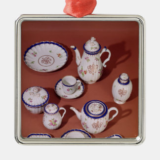 Part of a Worcester monogrammed tea service Christmas Ornament