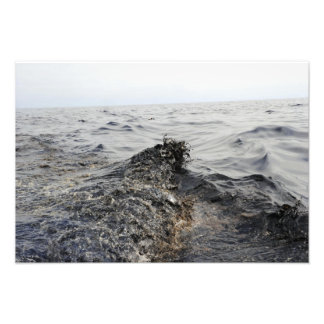 Part of an oil slick in the Gulf of Mexico Photo
