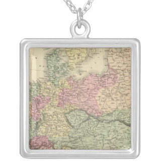 Part of Europe Silver Plated Necklace