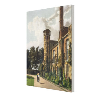 Part of St. Peter's College (Peterhouse) from the Canvas Print