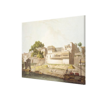 Part of the City of Patna, on the River Ganges, fr Canvas Print