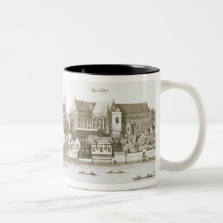 Part of the City of Westminster, 1647 (engraving) Two-Tone Mug