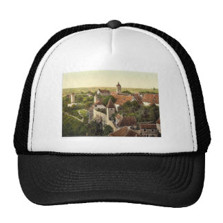 Part of the city, Rothenburg (i.e. ob der Tauber), Trucker Hat