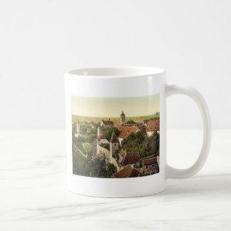 Part of the city, Rothenburg (i.e. ob der Tauber), Coffee Mugs