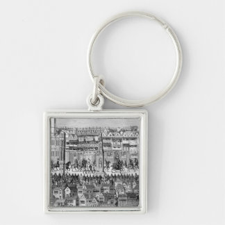 Part of the Coronation Procession Keychain